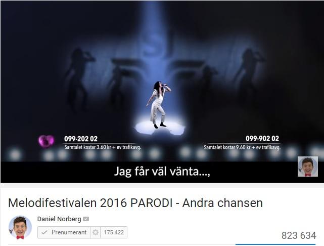 Läs mer om artikeln Melodifestivalen får konkurrens av Parodifestivalen